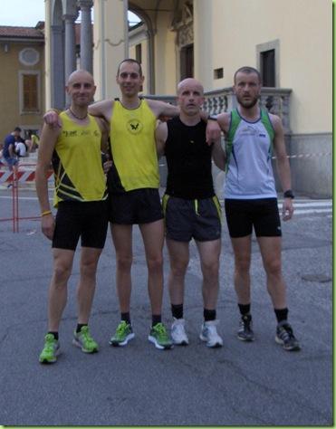 Cris, Beppe, Saggio e Gatto