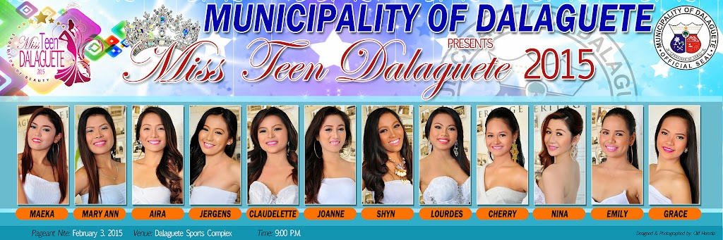 Miss Teen Tourism Dalaguete 2015