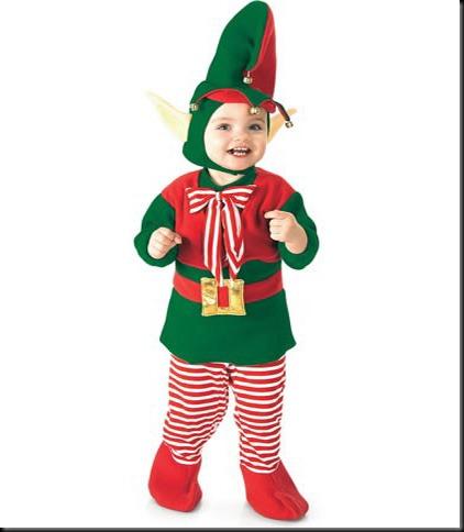 disfraz para navidad de elfo para niño