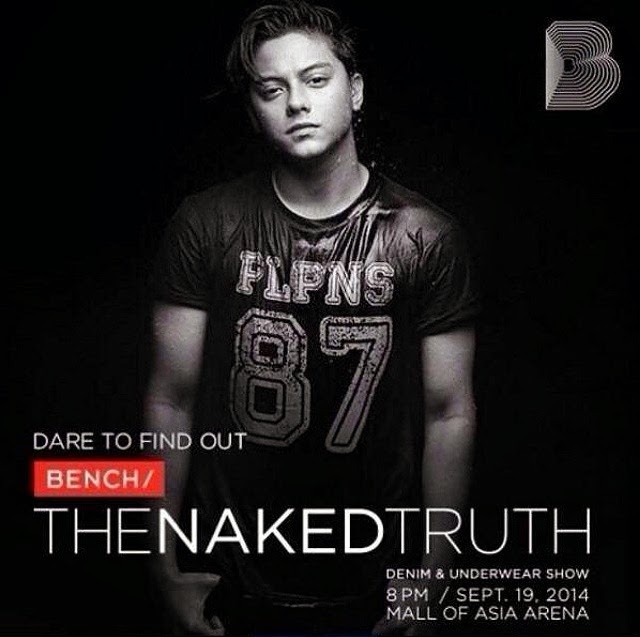 Daniel Padilla Bench the Naked Truth (2)