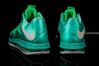 nike lebron 10 low ss green white 2 09 LEBRON X LOW, KOBE 8 and KD V   Nike Easter Collection
