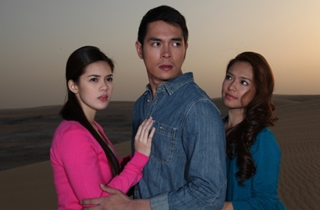 Shaina Magdayao, Jake Cuenca and Bangs Garcia