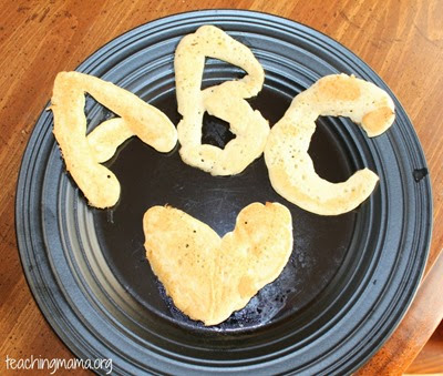 ABC Pancakes from Teaching Mama