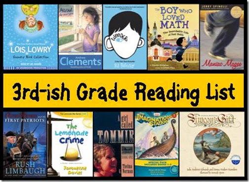 3rdGradeReadingList
