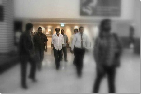 Rajinikanth in Singapore Hospital Photos