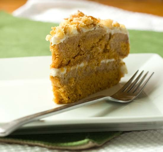 4pumpkin crunch cake