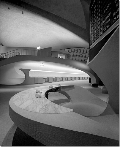 Ezra Stoller_TWA Terminal at Idlewild (now JFK) Airport, Eero Saarinen, New York, NY, 1962 4