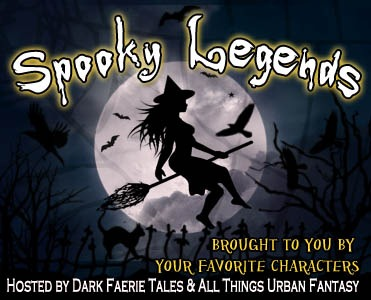 "Spooky Legends & Giveaway: Kersten Hamilition shares Loveleaves and Woodwender & win ""IN THE FORESTS OF THE NIGHT"""