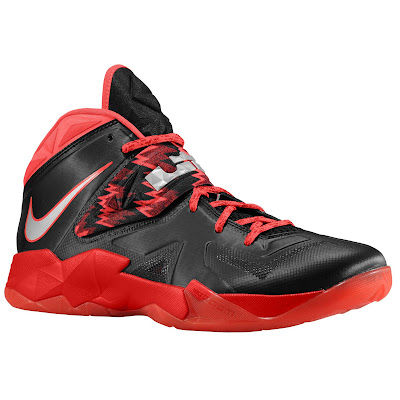 nike zoom soldier 7 gr black red 1 05 eastbay LEBRONs Nike Zoom Soldier VII $135 Pack Available at Eastbay