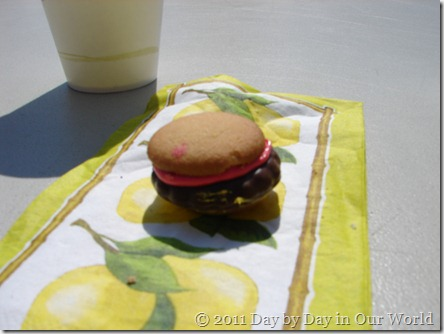 Sweet Burger treat