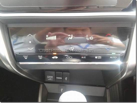 Digital Aircond Honda city 2014