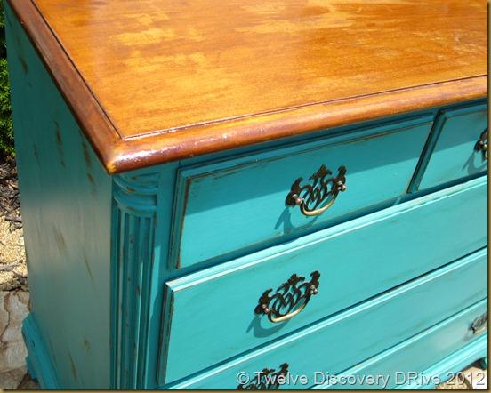 Teal Dresser 020