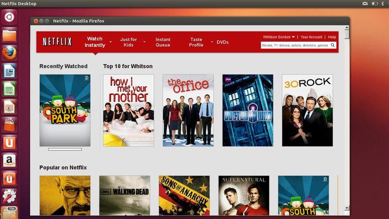 Netflix in Firefox su Ubuntu Linux