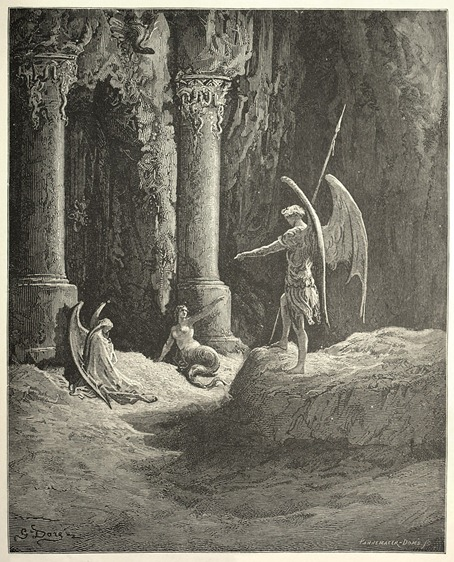 Gustave Dore Paradise Lost