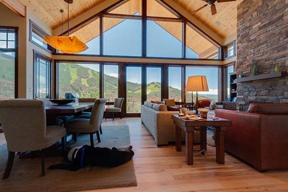 Vivir  en una  cómoda sala de estar