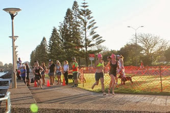 Foreshore Tri transition