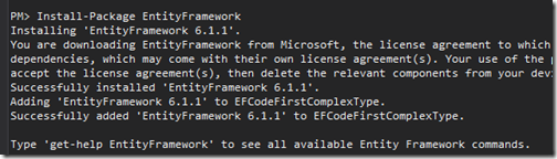 entity-framework-code-first-nuget-package-complex-type
