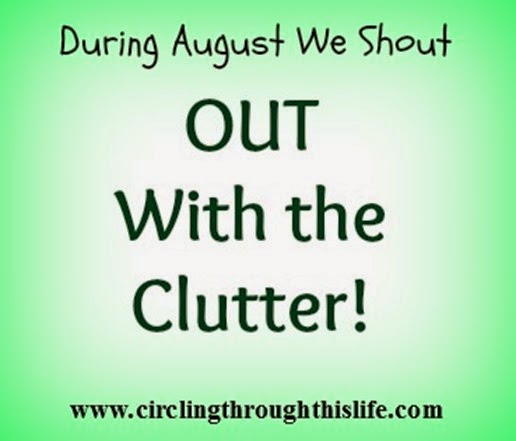 Play the Minimalist Game with Tess at Circling Through This Life and shout OUT with the clutter!