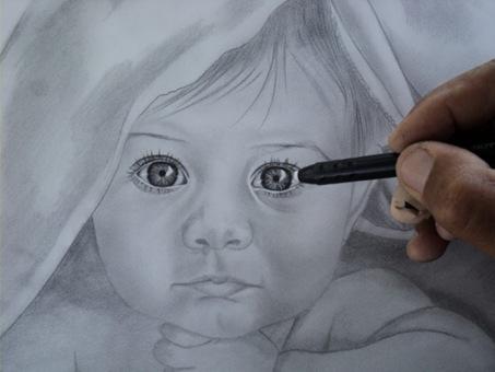 desenho de crianças a lápis 12