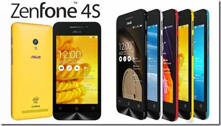 Harga Asus Zenfone 4S Terbaru Desember 2014