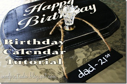 happy birthday tutorial