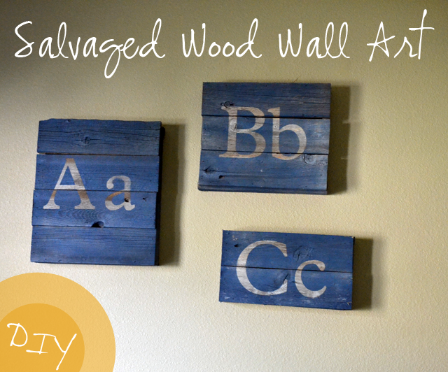 Salvaged Wood Wall Art by Poofy Cheeks