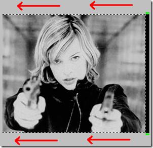 Spostare selezione immagine Photoshop