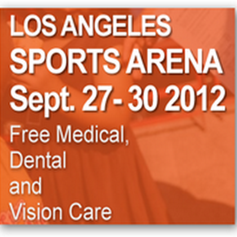 Care Harbor LA–Free Healthcare Clinic At the Los Angeles Sports Arena September 27–30, 2012