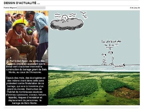 Raoni Amazònia Catastròfa Brasiliana