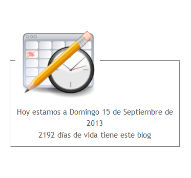 dias del blog