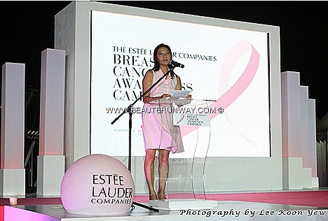 Estee Lauder Companies Singapore  first online auction with luxury and carefully curated collection donated by local celebrities, socialites and charitable individuals to raise funds for Breast Cancer Foundation (Singapore)