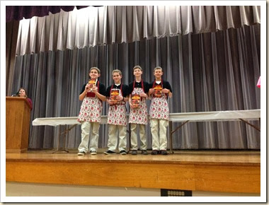 intermdieate food challenge award