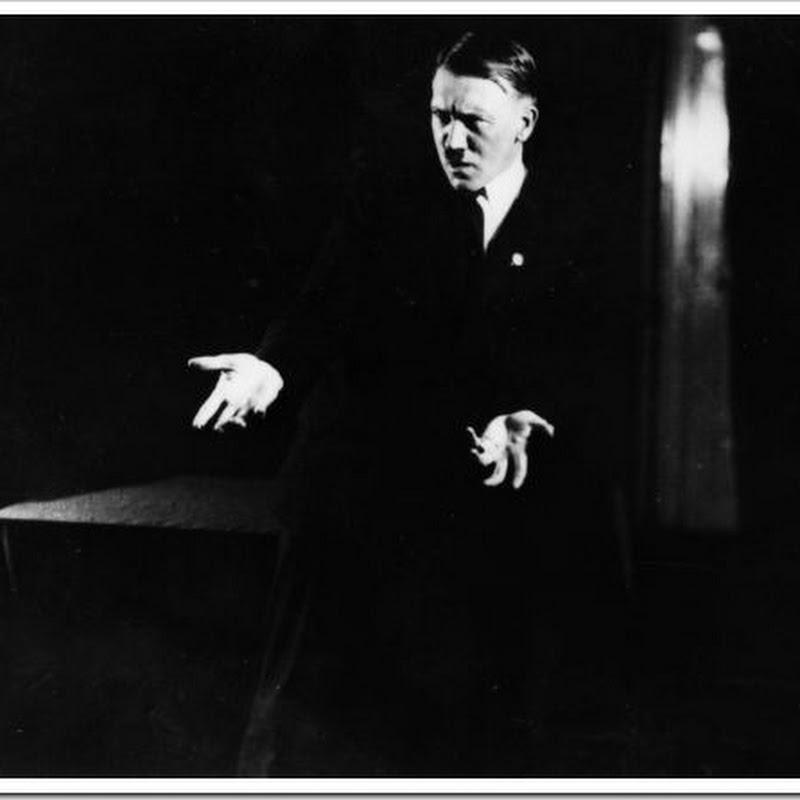 As fotografias proibidas de Hitler e o poder da oratória