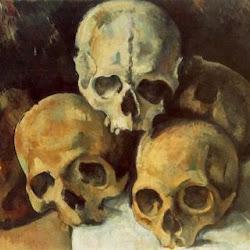 Paul Cezanne (1901): Pyramid of Skulls. Colección Privada. Vanguardias Históricas/Realismo