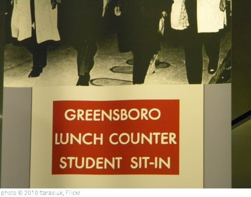 'Greensboro Lunch Counter' photo (c) 2010, ttarasiuk - license: http://creativecommons.org/licenses/by/2.0/