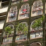 Facade dans la vieille ville