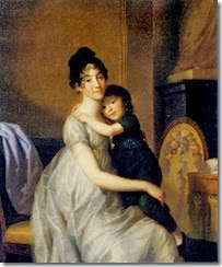 Johann-Friedrich-August-Tischbein-XX-Anne-Pauline-Dufour-Ferance-And-her-Son-Jean-Marc-Albert-1802-XX-Private-collection