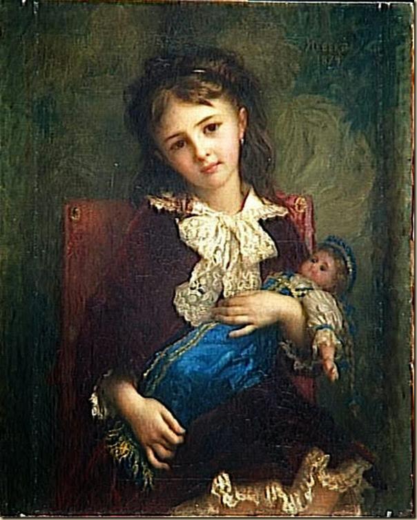 Ernest Hébert, Fillette et sa poupée