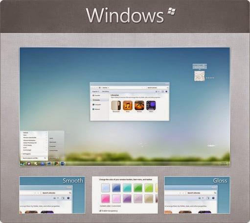 windows windows 7 theme