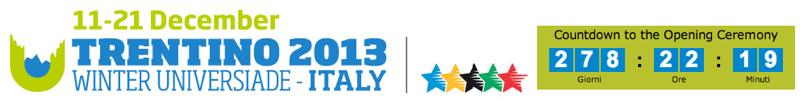 Universiadi 2013 Trentino