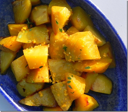 Roasted Golden Beets with Orange and Thyme - Savoring Italy