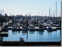 The harbor in Brookings Oregon