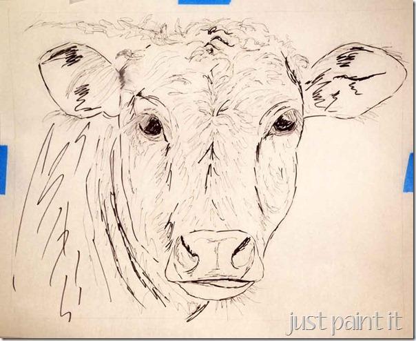 Cow-Sketch