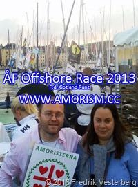 bm-image-732570 Fredrik och Goldrich. ÅF Offshore Race 2013. F.d Gotland runt. Med amorism