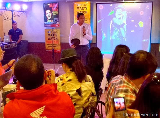 Max's Restaurant Bruno Mars concert