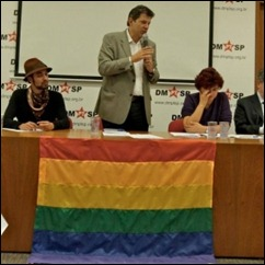Fernando Haddad e movimento gay
