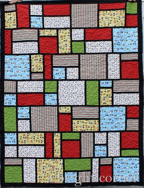 Jack's Blocks quilt