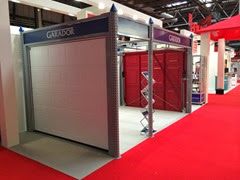 Garador stand at the Homebuilding and Renovating Show 2014 NEC Birmingham