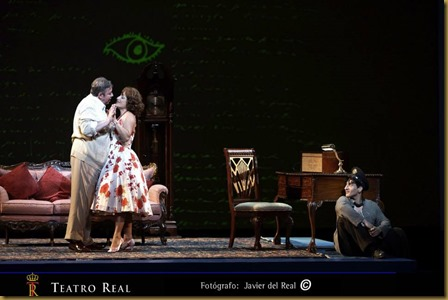 Postino Teatro Real Madrid 2