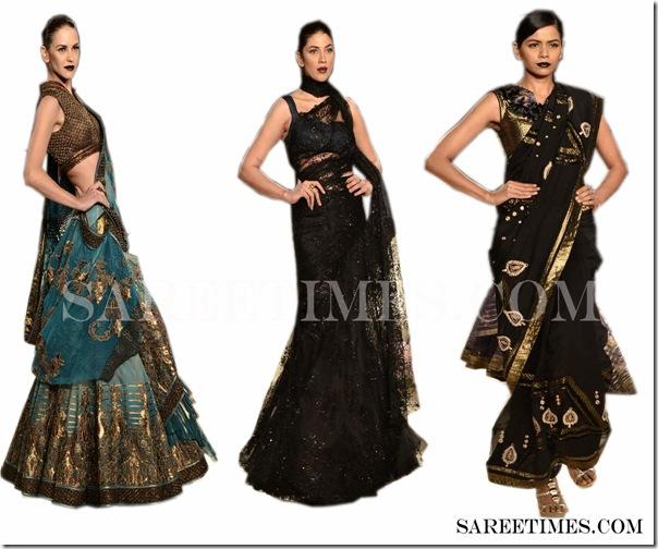 Designer Shantanu Akhil Sarees
